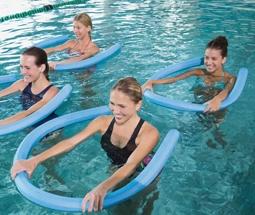 Aqua-Gymnastik-Rücken