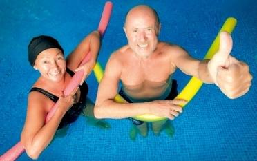 Aqua-Gymnastik-Senioren